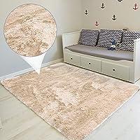 Tapis Salon Shaggy - Descente de lit Chambre Grande Taille Tapis Poils Longs Moderne tapid Moquette Poil Long tapi…