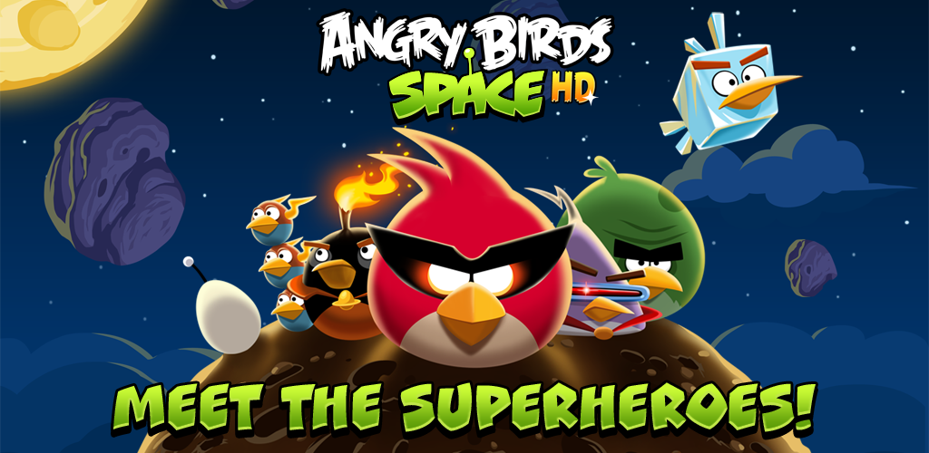 Angry Birds Space HD (Kindle Tablet Edition) Screenshot