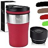 Milu Tazza termica da viaggio per caffè 210ml - 100% a Prova di perdite - Isolata Tazza di caffè e tè da portare via Tazza Te