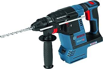 Bosch Professional Akku- Schlagbohrhammer GBH 18 V-26 (Tiefenanschlag, Zusatzhandgriff, L-Boxx, Schlagenergie: 2,6 J, Bohr-Ø max.: Stahl/Holz 13/30 mm, 18 Volt System)