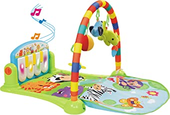 PLAYHOOD Musical Baby Gym with Piano, (Multicolour, 8374843787)