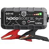 NOCO Boost X GBX45 1250A 12V UltraSafe Lithium Booster Batterie Voiture, Chargeur Power Bank USB-C et Câbles de Démarrage pou
