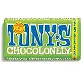 Tony's Chocolonely Dark Almond Sea Salt, 180g