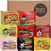 Kennenlernbox Buldak Box   Samyang Hot Chicken Ramen 16er MIX   Koreanische Hot Chicken Ramen 16er Mix zum Probieren