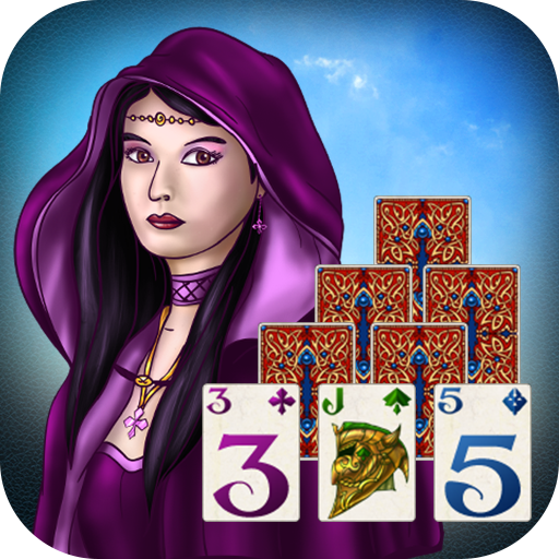 Fantasie Solitaire TriPeaks ♣ (Kostenloses Solitaire-kartenspiel)