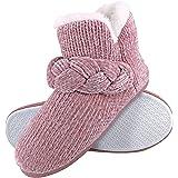 Dunlop - Donna Invernali Calde Termiche Alte Pantofole Stivaletto per Casa