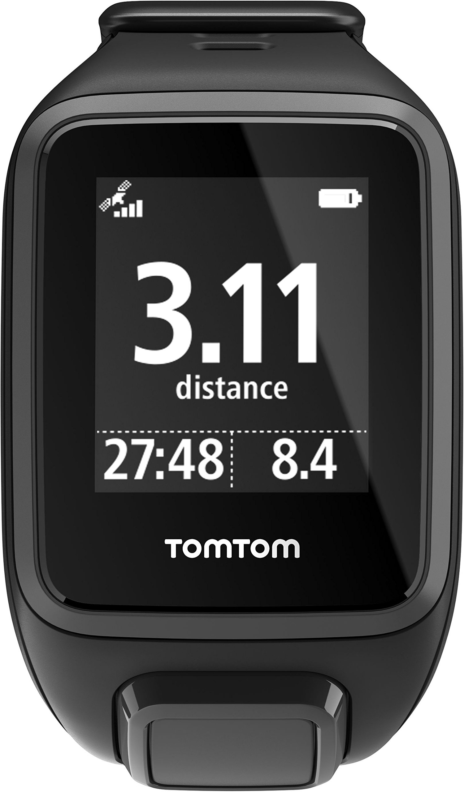 813288T8vWL - TomTom Spark GPS Multi-Sport Fitness Watch with Music, Small Strap - Black