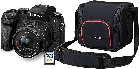 Panasonic LUMIX G70KA Starterkit inkl. 16GB SD Karte und Tasche (16MP, 4K Video, 7,5 cm (3 Zoll) Touchscreen, WiFi, NFC)