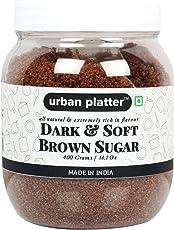 Urban Platter Dark Soft Brown Cane Sugar, 400g
