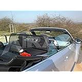 - Pieghevole con chiusura rapida Deflettore del vento Deflettore aria GermanTuningParts Frangivento per Mercedes R129 1989-2000 Paravento per decappottabili Beige