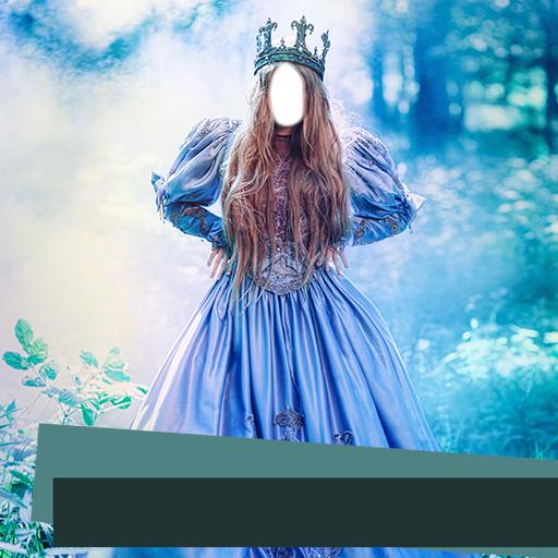Prinzessin Kleid Foto Editor - Mieder Rock Seide