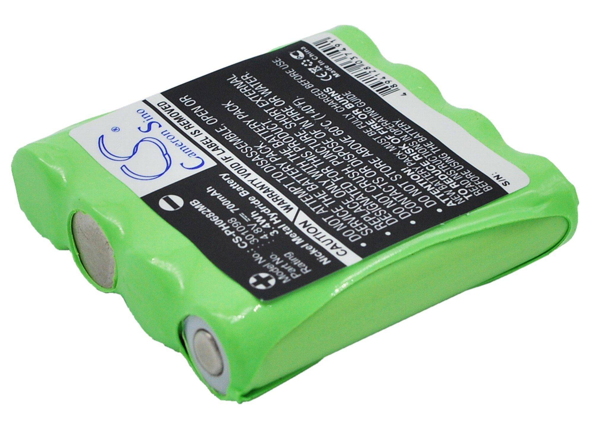 Cameron Sino 700�mAh batteria di ricambio per PHILIPS CE06821
