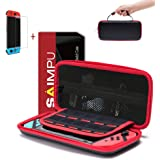 Nintendo Switch Case - Carrying Case Portable Hard Shell Slim Travel Storage Case for Nintendo Switch Console Accessories (Bl