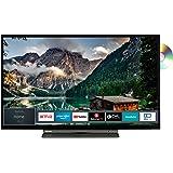Toshiba 32WD3A63DA (32 Zoll) Fernseher (HD ready, Triple Tuner, Smart TV, Prime Video, Bluetooth, Works with Alexa, DVD…