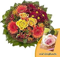 RAPIDO Füllhorn Blumenstrauß, Orange