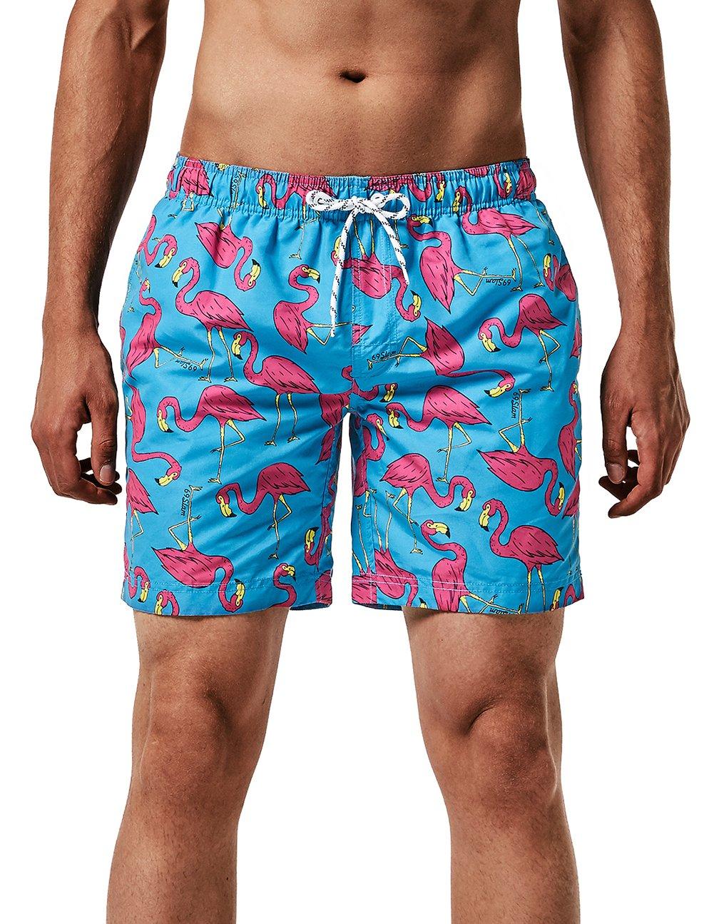 MaaMgic Uomo Costume da Bagno Nuoto Calzoncini Asciugatura Veloce per Spiaggia Mare Piscina 3 spesavip