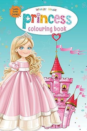 Princess Colouring Book (Giant Book Series): Jumbo Sized Colouring Books (Giant Colouring Book Series)