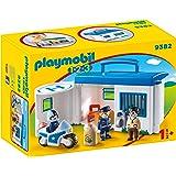 Playmobil 9382 1 2 3 Mijn Politiebureau, Meerkleurig, Een maat