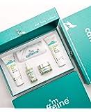 mCaffeine Green Tea Quick Face Detox Gift Kit   Dirt Removal, Exfoliation, Hydration   Face Wash, Face Scrub, Face Serum…