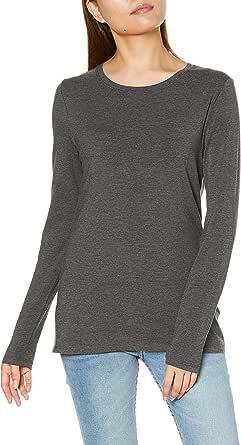 Amazon Essentials - Plus Size Long-sleeve T-shirt, fashion-t-shirts Donna