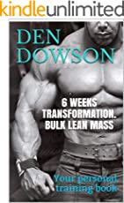 6 WEEKS TRANSFORMATION. BULK LEAN MASS: Your personal training book