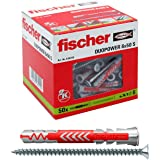 fischer 538245 DUOPOWER 6x50 S, grijs/rood