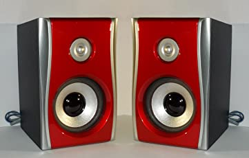 Soumik Electricals 3-inch Wooden Box Home Theater Satellite Speaker - Set of 2