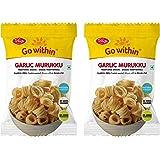 Telugu Foods Garlic Murukku 400gms (Pack of 2)