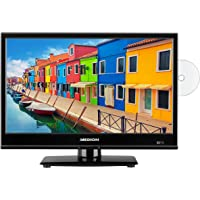 MEDION E11941 47 cm (18.5 inch) television (triple tuner, DVB-T2, integrated DVD player, ...