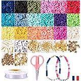 Kit Isma juegos de hacer pulseras collares y anillos, collares. caja manualidades. perlas para manualidades de pulseras niña.