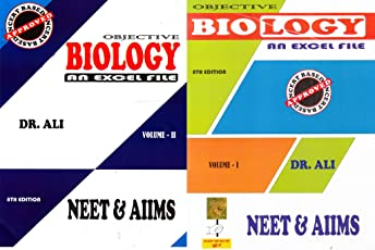 Objective Biology NEET & AIIMS (Set of 2 Volumes) (2018-2019)Session by Dr. Ali