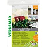 Verdemax 675217G/m² 2,4x 10m Protección no Tejido Malla de Tela, Color Blanco