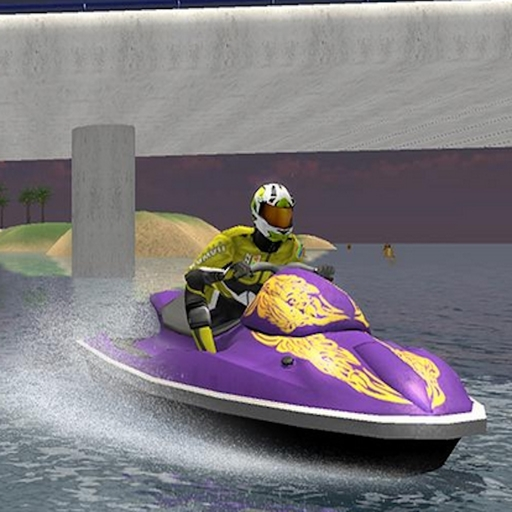 Jumping Speed Boat Race -
