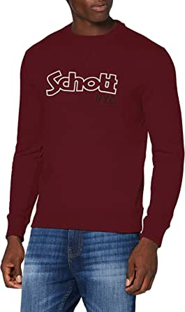 Schott NYC Men's Swcrewvint Sweatshirt