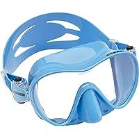 Cressi Unisex Erwachsene F1 Maske - Frahmenlose Maske zum Tauchen und Schnorcheln