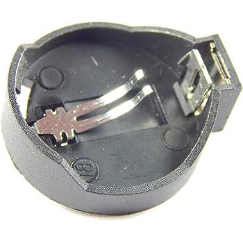 Robo India RI-196 3.3V   24.5 mm Coin Cell Holder, 5 Pieces