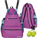 ACOSEN Tennis Bag Tennis Backpack - Large Tennis Bags for Women and Men to Hold Tennis Racket,Pickleball Paddles, Badminton R