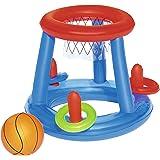 Bestway 52190 - Canasta Hinchable Baloncesto Game Center Ø61 cm