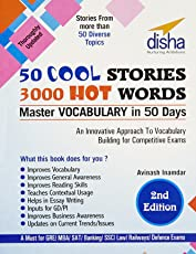 50 Cool Stories 3000 Hot Words for GRE/ MBA/ SAT/ Banking/ SSC/ Defence Exams: Master Vocabulary in 50 days