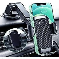 Humixx Handyhalterung Auto [2021 Stärkerer Version] Universal 3 in 1 Auto Handyhalterung Saugnapf & Lüftungclip KFZ…