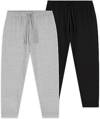 CityComfort Mens Lounge Pants, 2 Pack Mens Pyjama Bottoms, Lounge Sets for Men