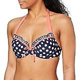 Pour Moi Sea Breeze Padded Halter Underwired Top Reggiseno Bikini Donna