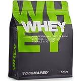 Whey Protein Pulver (Schoko), 1000g, High Performance Eiweißpulver für Muskelaufbau mit BCAA (Nutrition) von TOOSHAPED