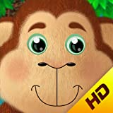 5 Little Monkeys HD - Interactive Nursery Rhyme