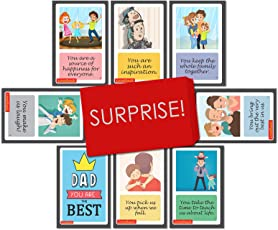 Greeting cards buy greeting cards online at best prices in india love shack reasons dad is the best cards set birthday anniversary gift for father m4hsunfo