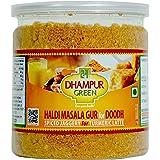 Dhampure Speciality Haldi Turmeric Masala Gur|Gud Jaggery Powder for Milk Doodh|Turmeric Latte - 250g