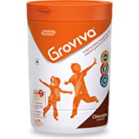 Groviva Child Nutrition Supplement Jar- 400g (Chocolate)