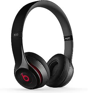 Beats by Dr. Dre Solo2 Cuffie Wireless On-Ear, Nero (Noir Brillant)