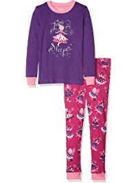 b1c3f4903 Hatley Organic Cotton Long Sleeve Appliqué Pyjama Sets