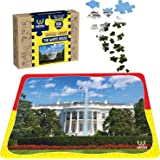 Webby The White House Wooden Jigsaw Puzzle, 108 Pieces, Multicolor